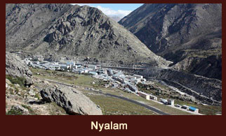 Nyalam is a small Tibetan town near the Nepal border.