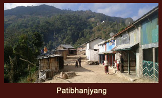"Patibhanjyang, a village in the Langtang region of Nepal dominated by the ""Brahmin"" and ""Chettri"" population."