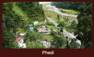 Phedi, a small settlement near Pokhara.