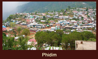 Phidim, a small town in the Kanchenjunga region of Nepal that hosts the Local Gorkha Regiment.