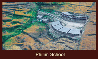 Philim School in the Annapurna region of Nepal.