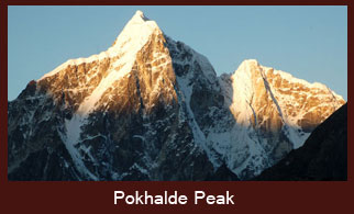 Pokhalde Peak (5806m) is one of the shortest and easiest trekking peaks in the Everest Region in Nepal.
