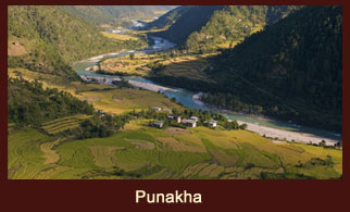 Punakha is the administrative centre of Punakha dzongkhag, one of the 20 districts of Bhutan.
