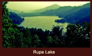 Rupa Lake or Rupa Tal is a freshwater lake in Nepal located in the south-east of Pokhara valley that includes Lekhnath municipality.
