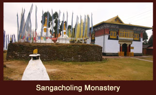 The Sangacholing Monastery is one of the oldest monasteries in the Northeast Indian state of Sikkim.