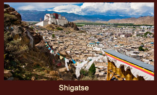 Shigatse is the second largest city in Tibet.