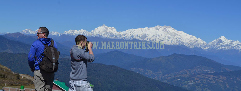Sikkim and Darjeeling are the most picturesque hill stations in India.