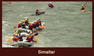 Simaltar, the concluding point of