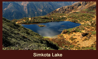 Simikota Lake in Bhutan is known for the presence of trout fishes.