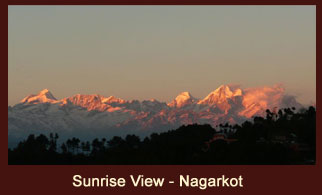 Nagarkot hill station is one of the most scenic spots in Bhaktapur district of Nepal and is renowned for its spectacular sunrise view of the Himalayan region.