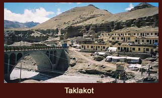 Taklakot, also known as