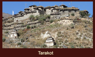 "Tarakot, this is an old fortress town, locally referred as Dzong, meaning ""fort"" in the far western region of Nepal."