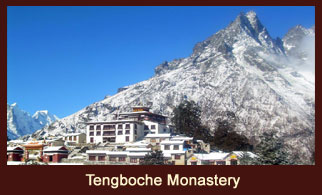Tengboche Monastery, also known as 'Dawa Choling Gompa' is one of the most famed monasteries in the Everest region of Nepal.