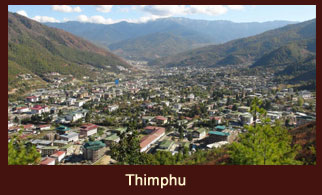 Thimphu, the prudent capital of Bhutan.