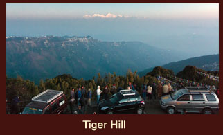 Tiger Hill, one of the most popular tourist attractions in Darjeeling, regarded as an exclusive vantage point to witness the sunrise.