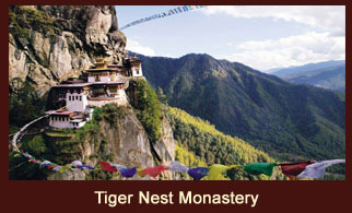 Tiger Nest Monastery also popularly known as Takstang Monastery is located in Paro, Bhutan.