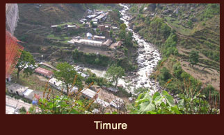 Timure, a settlement in Langtang Region, Nepal.