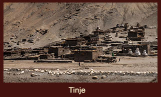 Tinje, is a village in the Dolpo District of Nepal.