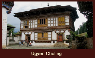 Ugyen Choling village is located in central Bhutan, in the valley of Tang, in Bhumtang.