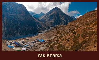 Yak Kharka, a small and sparsely populated village in the Annapurna region of Nepal.