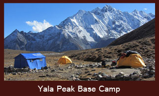 Yala Peak Base Camp, Langtang Region, Nepal.