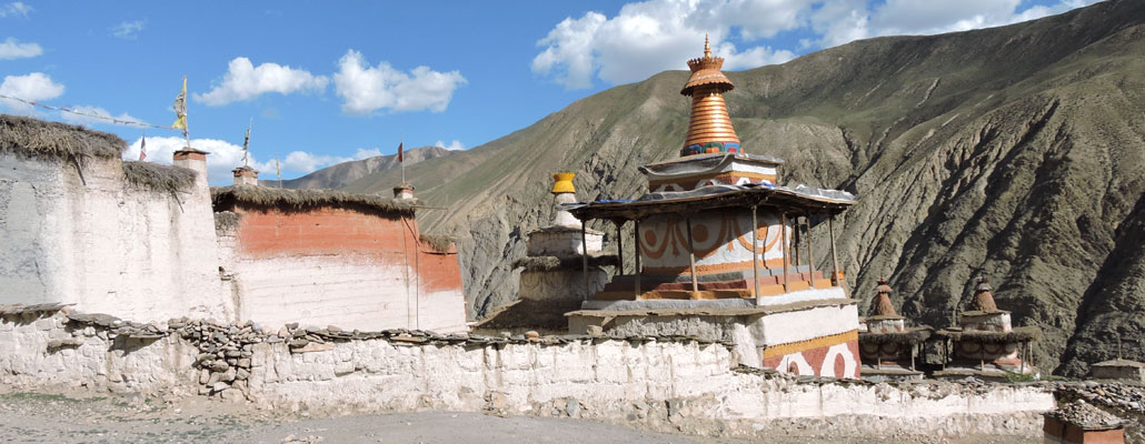 The Yangjer Gompa is located in the Dolpo Region of Nepal.