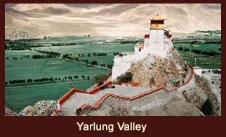The Yarlung Valley of Tibet is also known as the cradle of Tibetan civilization.