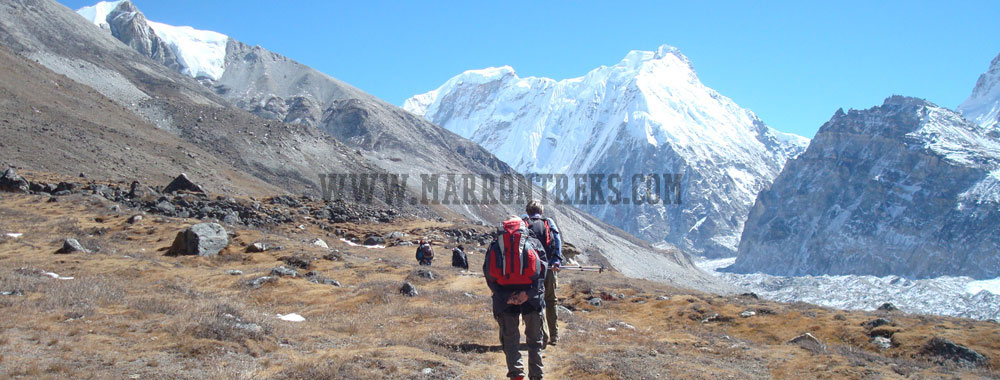Kanchenjunga North & South Base Camp Trek, Kanchenjunga Region of Nepal.