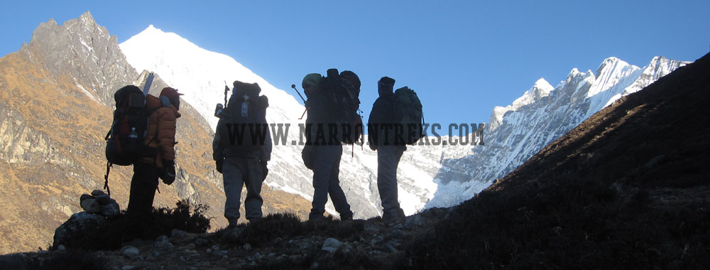 Langtang is a slender valley in Nepal nestled between the mighty Langtang Lirung (7234 m) to the north and a massif of Gang Chhenpo (6388 m), Naya Kangri (5857 m) and Dorje Lakpa (6966 m) to the south and east respectively.