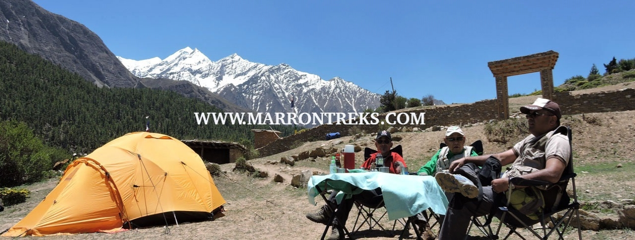 CAMP SITE IN DOLPO