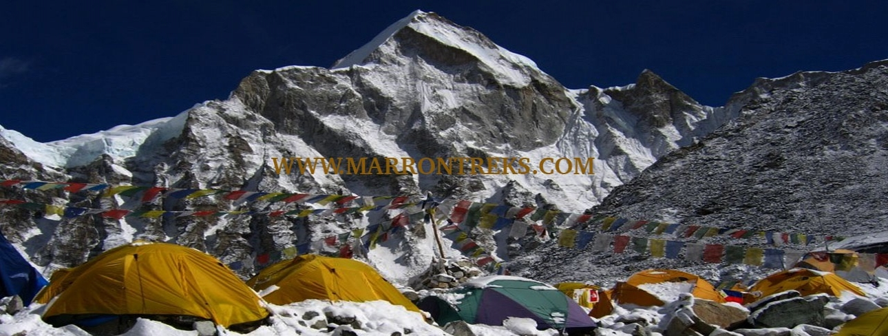 EVEREST BASE CAMP (5,364m)